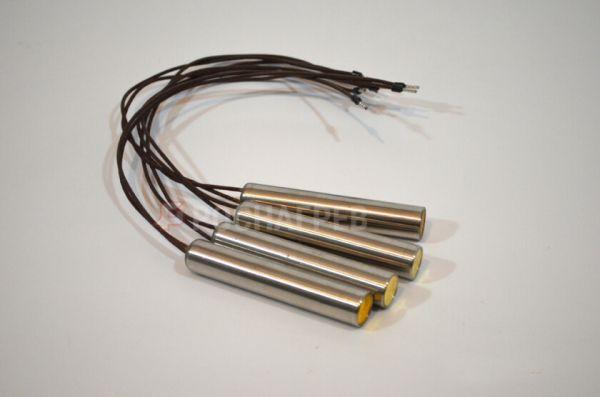 Нагреватель патронный РНП 100мм-12,5мм/0,26 кВт-220 В (эскиз)
